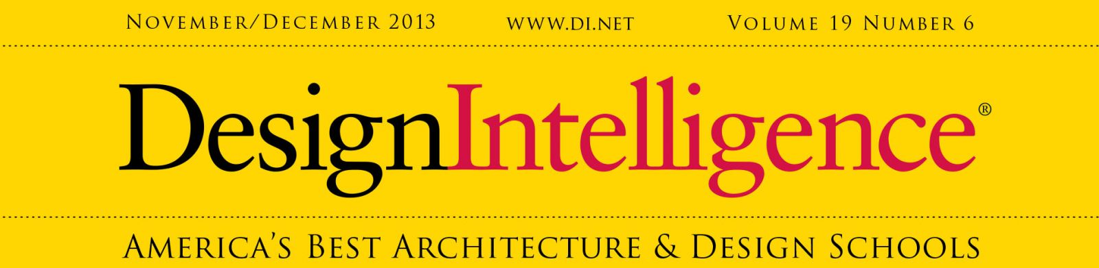 Design Intelligence, November/December 2013 Issue